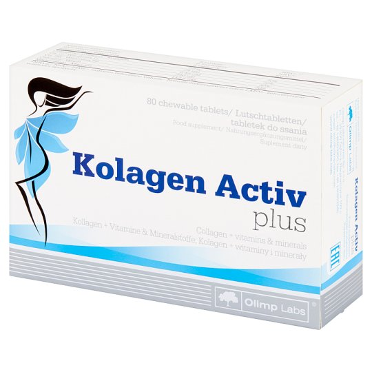Olimp Labs Colagen Active plus Dietary Supplement 120 g (80 Pieces)