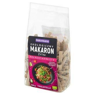 NaturAvena Tagliatelle Organic Wholegrain Rye Pasta 250 g