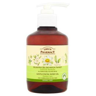 Green Pharmacy Delikatny żel do mycia twarzy dla mieszanej i tłustej skóry Zielona herbata 270 ml