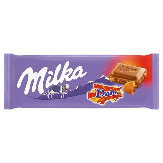 Milka Alpine Milk Chocolate Daim 100 g