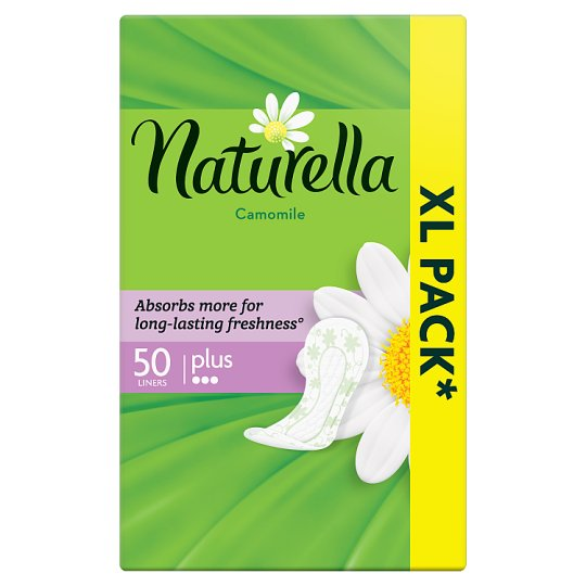 Naturella Panty Liners Plus Camomile 50 Liners