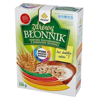 Granex Zdrowy Błonnik Multicereal Sticks with Cellulose 350 g