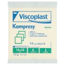 Viscoplast Compresses 10 x 10 cm 3 Pieces