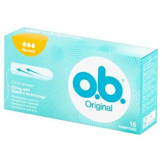 O.B. Original Normal Tampony 16 sztuk
