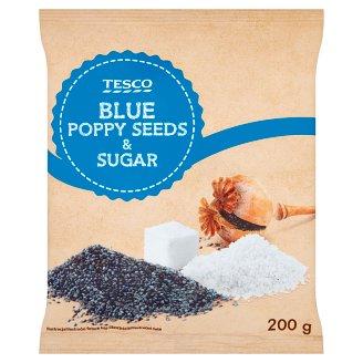 Tesco Mieszanka maku niebieskiego mielonego z cukrem 200 g