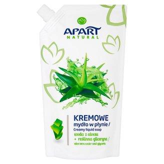 Apart Natural Aloe Vera and Glycerin Liquid Soap Cream 400 ml