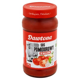 Dawtona Tomato Pasta Sauce 550 g