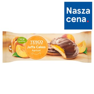 Tesco Jaffa Cakes Apricot Biscuits with Chocolate 150 g
