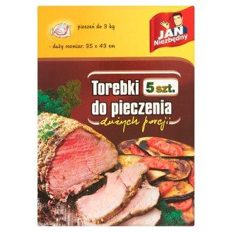 Jan Niezbędny Torebki do pieczenia dużych porcji 5 sztuk