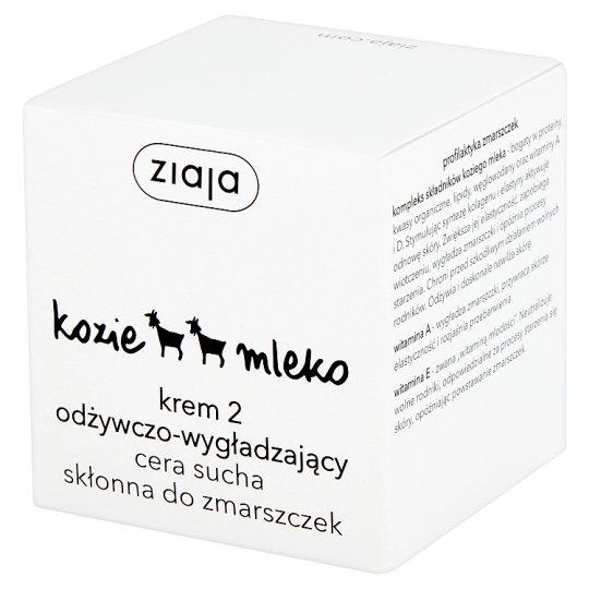 Ziaja Kozie mleko Krem 2 odżywczo-wygładzający cera sucha skłonna do zmarszczek 50 ml