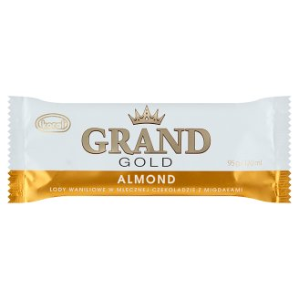 Koral Grand Gold with Almonds Ice Cream 120 ml