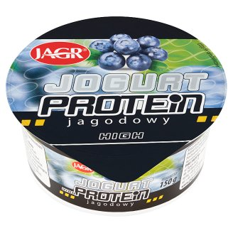 Jagr High Protein Blueberry Yoghurt 150 g