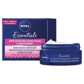 image 2 of NIVEA Essentials Dry and Sensitive Skin Intensive Regenerating Night Cream 50 ml