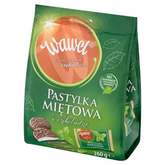 Wawel Chocolate Coated Mint Pastilles 260 g