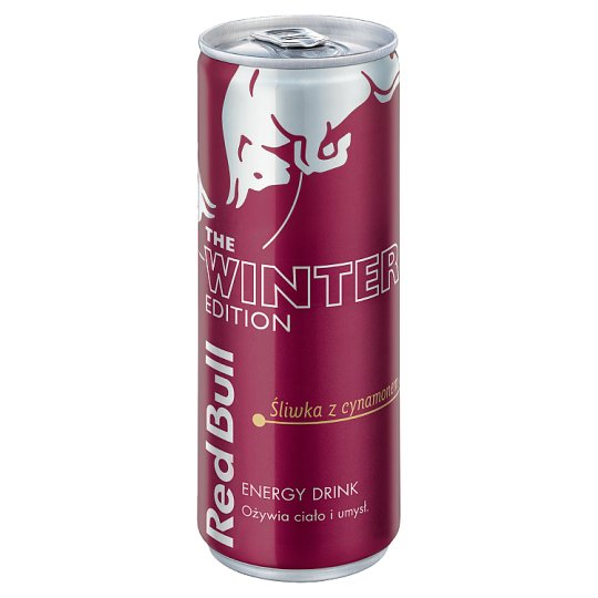 Red Bull Plum with Cinnamon Energy Drink 250 ml
