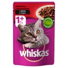 Whiskas 1+ Years Complete Cat Food with Beef in Sauce 100 g