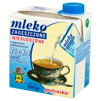 SM Gostyń Gostyńskie Light Condensed Milk 4% 500 g