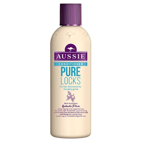 Aussie Pure Locks Conditioner 250ML, For Clean Hair & Pure Thoughts