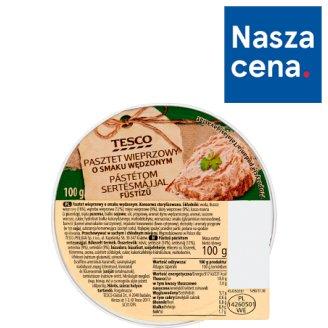 Tesco Pasztet wieprzowy o smaku wędzonym 100 g