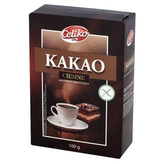 Kakao ciemne o obniżonej zawartości tłuszczu 100 g