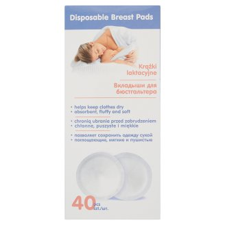 Canpol Babies Disposable Breast Pads 40 Pieces