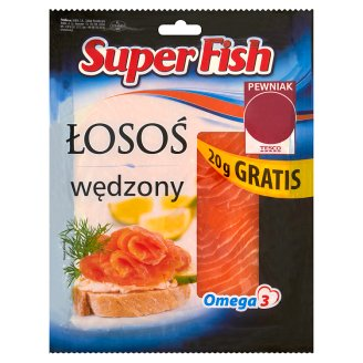SuperFish Smoked Norwegian Salmon 120 g