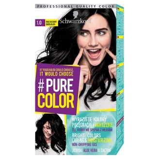 Schwarzkopf #Pure Color Hair Colorant Raven Black 1.0
