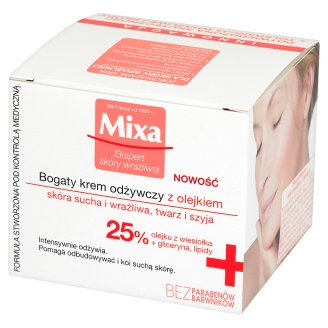 Mixa Rich Nourishing Cream with Oil 50 ml