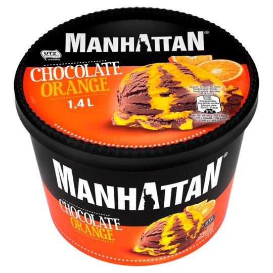 Manhattan Classic Lody czekoladowo-pomarańczowe 1,4 l