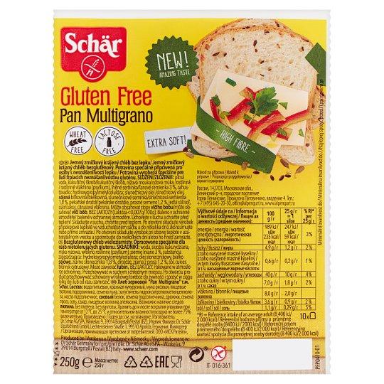 Schär Pan Multigrano Multigrain Gluten Free Bread 250 g