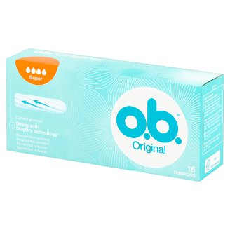 O.B. Original Super Tampons 16 Pieces