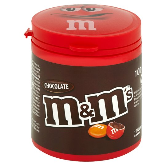 M&M's Chocolate Milk Chocolate in Colorful Shells 100 g