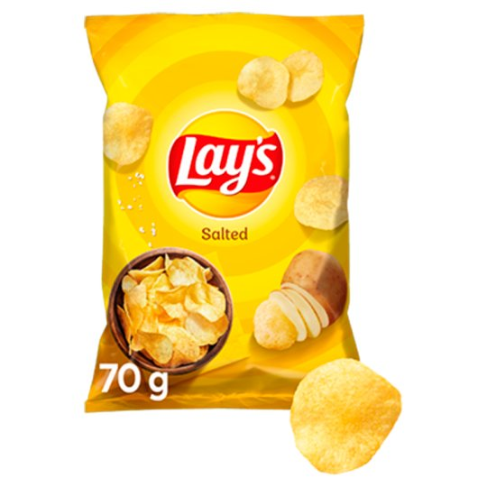 Lay's Chipsy ziemniaczane solone 70 g