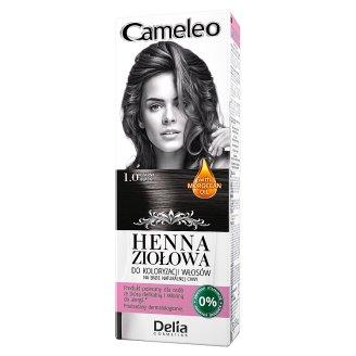 Delia Cosmetics Cameleo Coloring Hair Herbal Henna 1.0 Black 75 g