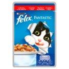 Felix Fantastic Karma dla dorosłych kotów z wołowiną w galaretce 100 g