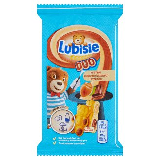 Lubisie Duo Hazelnuts and Chocolate Flavour Sponge Cake 30 g