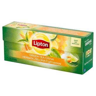 Lipton Herbata zielona cytrusowa 32,5 g (25 torebek)