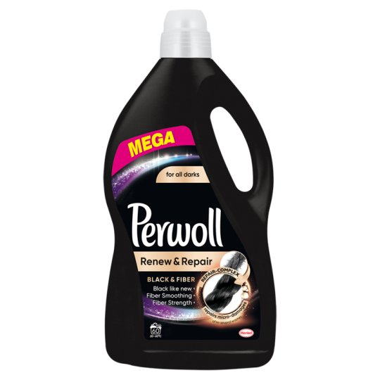 Perwoll renew Advanced Effect Black & Fiber Washing Liquid 3.6 L (60 Washes)