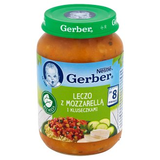 Gerber Letcho with Mozzarella and Noodles after 8 Months Onwards 190 g