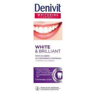 Denivit White & Brilliant Pasta do zębów do codziennego stosowania 50 ml