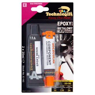 Technicqll Epoxy Glue Metal 2 x 20 ml