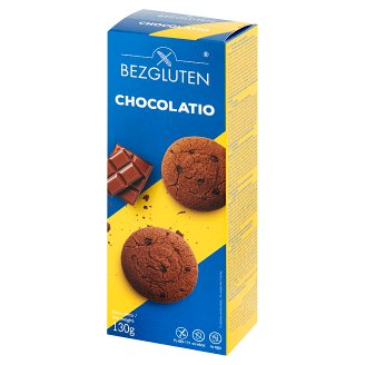 Bezgluten Chocolatio Chocolate Cookies 130 g