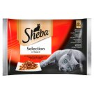 Sheba Selection in Sauce Complete Pet Food 340 g (4 Pieces)