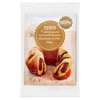 Tesco Baking Powder 6 x 12 g