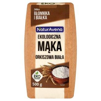 NaturAvena Ekologiczna mąka orkiszowa biała 500 g