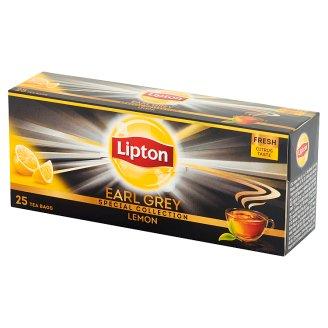 Lipton Earl Grey Lemon Black Tea 50 g (25 Tea Bags)