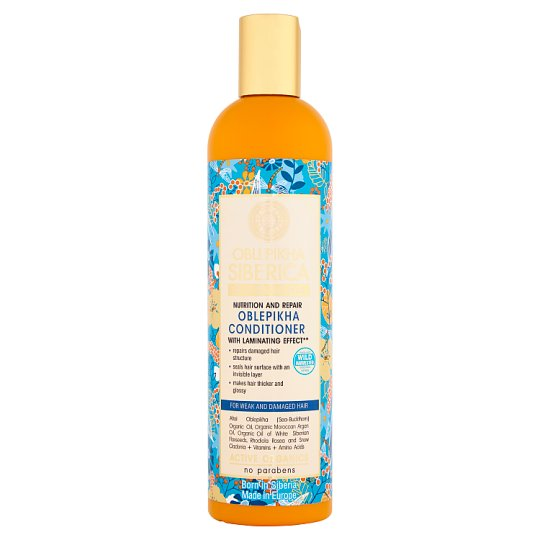 Natura Siberica Oblepikha Nutrition and Repair Oblepikha Hair Conditioner 400 ml