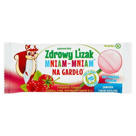 Starpharma Zdrowy Lizak Mniam-Mniam na gardło Suplement diety 6 g