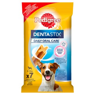 Pedigree DentaStix Mini Supplementary Food for Adult Dogs 110 g (7 Pieces)