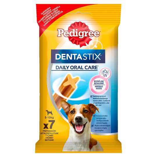 Pedigree DentaStix 5-10 kg Supplementary Dog Food 110 g (7 Pieces)